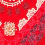 Women: Tees Sale: Red Multi. Lucky Brand Tile Tee