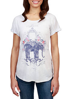 Lucky Brand Elephant Tee