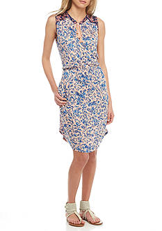 Lucky Brand Midi Waist Knit Dress