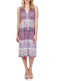 Lucky Brand Floral Printed Dress