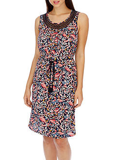 Lucky Brand Mar-Inset Lace Dress