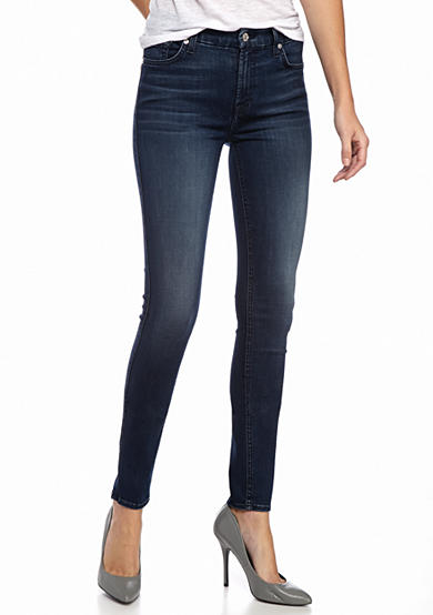 7 For All Mankind® Skinny Slim Illusion Luxe: Luminous