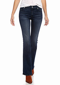 7 For All Mankind Bootcut Slim Illusion Luxe: Luminous