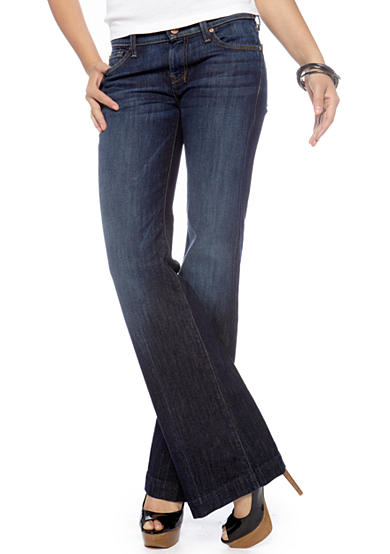 7 For All Mankind® Dojo Wide Leg Jean (Short 31 Inseam)