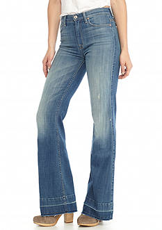 7 For All Mankind® Ginger Released Hem Flare Leg Trouser Jeans