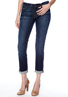 7 For All Mankind® The Skinny Crop And Roll