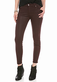 7 For All Mankind Coated Ankle Skinny Pant