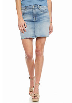 7 For All Mankind® Denim Mini Skirt
