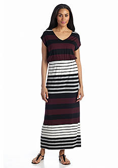 Grace Elements Deep V-Neck Maxi Dress