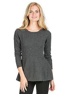 Premise Cashmere Peplum Sweater