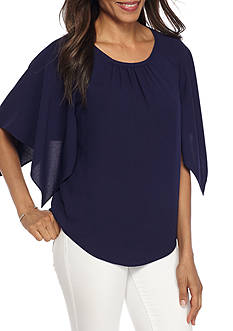 Grace Elements Angle Sleeve Blouse