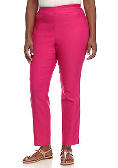 Grace Elements Plus Size Bangalene Pull-On Ankle Pants