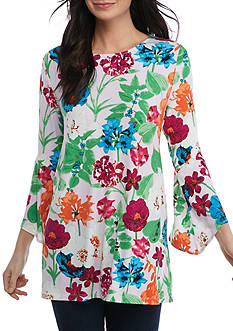Grace Elements 3/4 Sleeve Bell Tunic