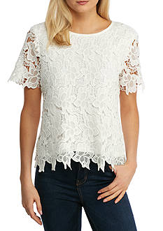 Grace Elements Floral Lace Top
