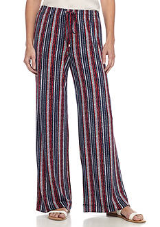 Grace Elements Striped Soft Pants