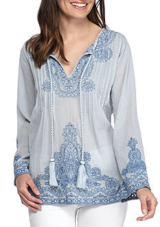 Grace Elements Bell Sleeve Top
