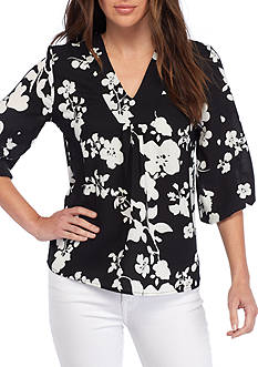 Grace Elements V-Neck Blouse