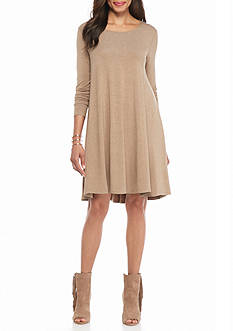 Grace Elements Knit Trapeze Dress