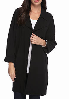 Grace Elements Solid Crepe Jacket