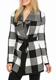 Grace Elements Buffalo Plaid Jacket