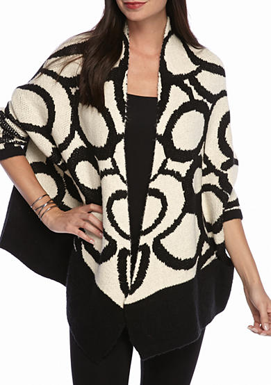Grace Elements Large Circle Sweater