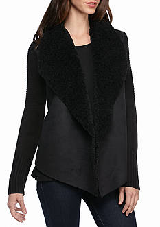 Grace Elements Faux Fur Sherpa Jacket