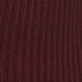 Statements: Grace Elements: Deep Wine Grace Elements Faux Fur Sherpa Jacket