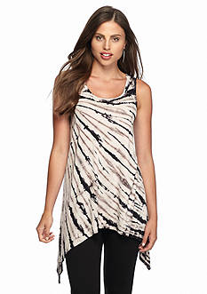 Grace Elements Feather Tye Dye Top