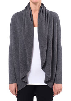 Ply Cashmere™ Cashmere Pointelle Circular Cardigan