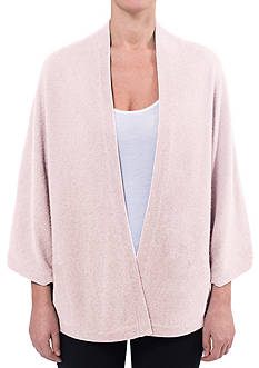 Premise Cashmere Open Front Cape With Coverstitch