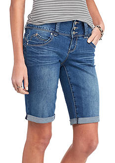 YMI Wanna Betta Butt 3 Button High Waist Skinny Jeans