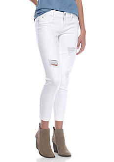YMI Wanna Betta Butt Roll Cuff Skinny Jeans