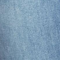Ymi Juniors Sale: Ocean Blue YMI Wanna Betta Butt Roll Cuff Skinny Jeans