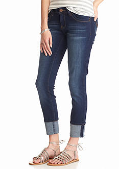 YMI Wanna Betta Butt Cuff Skinny Jeans