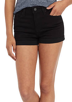 YMI High Rise 2.5 Inch Shorts with Light Wash