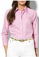 Lauren Ralph Lauren Priya Three Quarter Sleeve