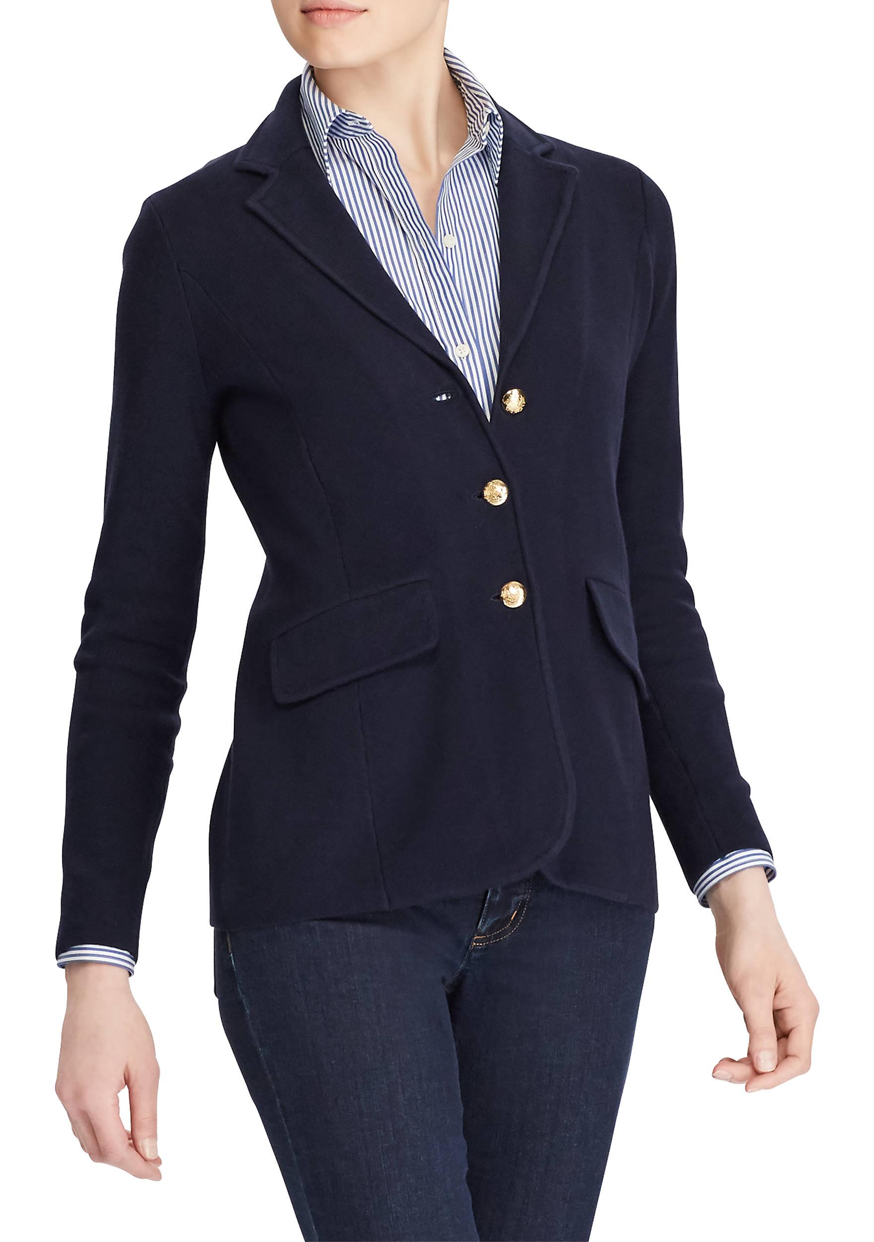 Lauren Ralph Lauren Cotton Sweater Blazer | belk