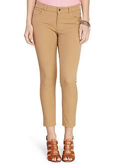 Lauren Ralph Lauren Stretch-Twill Skinny Pants