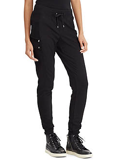 Lauren Ralph Lauren French Terry Cargo Pant