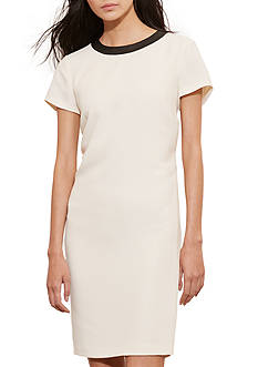 Lauren Ralph Lauren Stretch Crepe Shift Dress