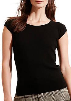 Lauren Ralph Lauren Silk-Cotton Sweater