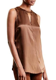 Lauren Ralph Lauren Silk Sleeveless Top