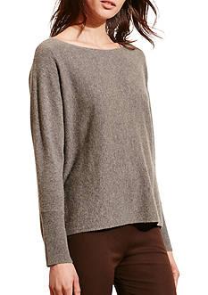 Lauren Ralph Lauren Wool-Cashmere Boatneck Sweater
