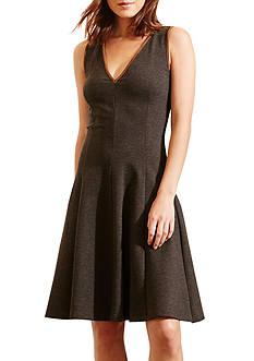 Lauren Ralph Lauren Fit-and-Flare Ponte Dress