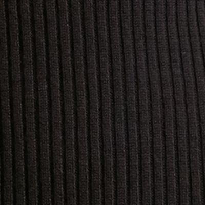 Sweaters for Women: Crew & Scoop Neck: Black Lauren Ralph Lauren Merino Wool Sleeveless Sweater