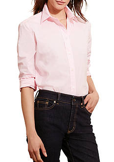 Lauren Ralph Lauren Stretch Broadcloth Shirt