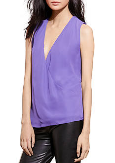 Lauren Ralph Lauren Georgette Sleeveless Blouse