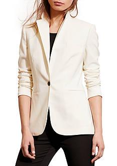 Lauren Ralph Lauren Wool Single-Button Jacket
