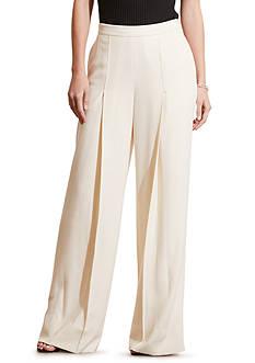 Lauren Ralph Lauren Crepe Wide-Leg Pants