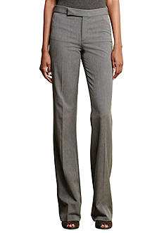 Lauren Ralph Lauren Stretch-Wool Flared Pant